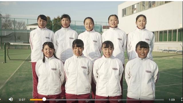 テニスデイリーの特設サイトに、シード校の早稲田実業学校女子チームの ...